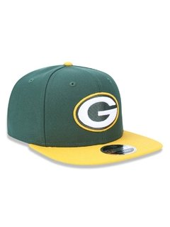 Boné New Era 9Fifty NFL Green Bay Packers Verde NFPERBON033