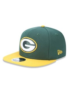 Boné New Era 9Fifty NFL Green Bay Packers Verde NFPERBON033 na internet