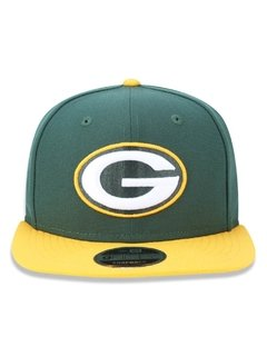 Boné New Era 9Fifty NFL Green Bay Packers Verde NFPERBON033 - comprar online