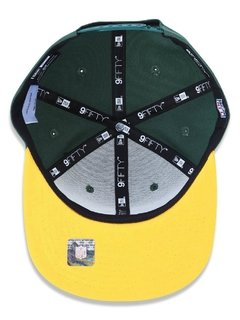 Boné New Era 9Fifty NFL Green Bay Packers Verde NFPERBON033 - loja online