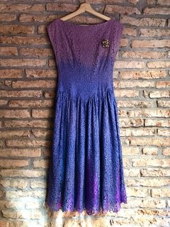 Vestido Vintage 50´s Upcycled - HahnMade