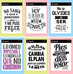 Stickers Frases