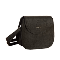 Cruelty Free Saddle Bag in Pineapple Leather Pinatex