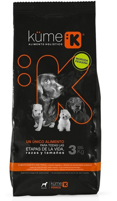 KUME PERROS SMALL 3KG