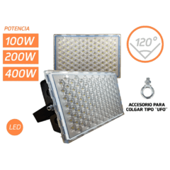Reflectores LED superlux - alta potencia