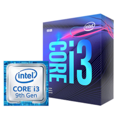 PROCESSADOR INTEL CORE I3-9100 3.6 GHz (MAX TURBO 4.2 GHz) 6MB LGA 1151 COFFE LAKE 9° GERAÇÃ