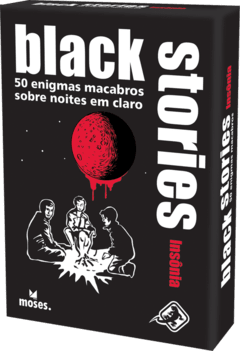 BOARD GAME - BLACK STORIES - INSÔNIA
