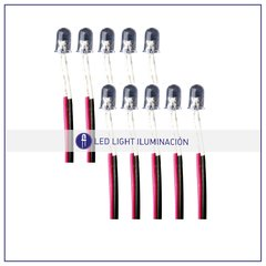 Pack Led oval 5 mm en internet