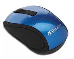 MOUSE INALAMBRICO VERBATIM MINI TRAVEL - comprar online