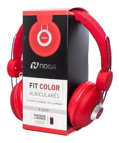 AURICULARES NOGA FIT COLOR CON CABLE NG-X2670
