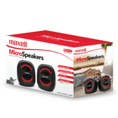 Parlantes p/PC Maxell Micro Speakers SS-120
