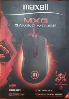 Mouse Gaming  MXG Samurai Series maxell