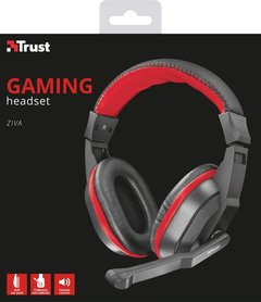 Auricular Trust Ziva Gaming Headset Microfono Pc Gamer