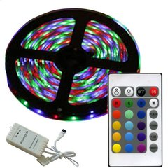 Tira Luces Led 5050 Rgb 5 Mts C/remoto Int-ext en internet