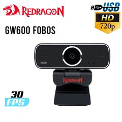 WEBCAM REDRAGON GW600 FOBOS HD 720P USB