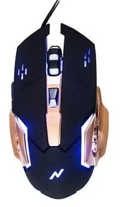 MOUSE Y PAD GAMER | NOGANET | ST-800 - Intec
