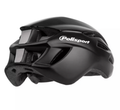 Capacete para bike Polisport Aero Road - Preto - 58/61cm - Bike House