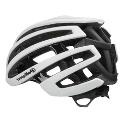 Capacete Ciclismo Mtb Polisport Light Road Branco com Preto L 58/61 - Bike House
