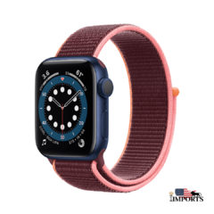 Apple Watch Series 6 - Caixa Azul - Sport Loop - Boss Imports | Apple , Smartwatch e importados.