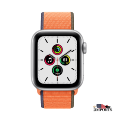 Apple Watch Series SE - Caixa Prateada - Sport Loop
