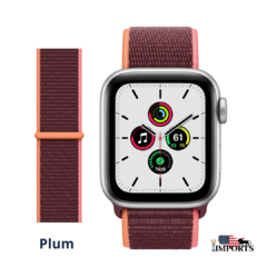 Imagem do Apple Watch Series SE - Caixa Prateada - Sport Loop