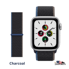 Apple Watch Series SE - Caixa Prateada - Sport Loop - comprar online