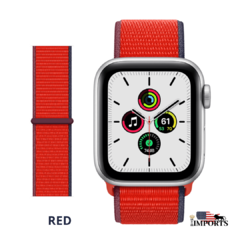 Apple Watch Series SE - Caixa Prateada - Sport Loop na internet