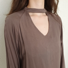 BLUSA CHOKER GRACA - D1 Look