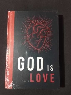 BIBLIA SAGRADA - NVT - GOD IS LOVE - CAPA DURA