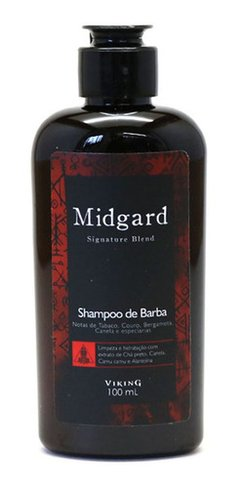 Shampoo de Barba - Midgard - Viking - 100ml