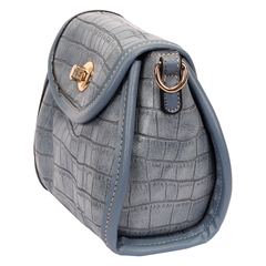 Crossbody Pequena Croco - 45235 na internet