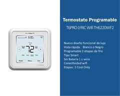 TERMOSTATO T6  LYRIC WIFI BLANCO