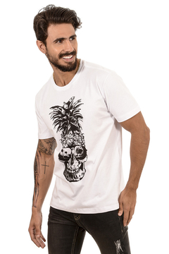 T-SHIRT PINEAPPLE SKULL na internet
