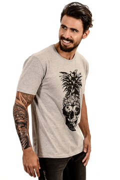 Imagem do T-SHIRT PINEAPPLE SKULL