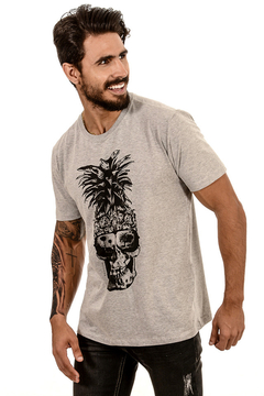T-SHIRT PINEAPPLE SKULL