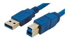 Cable USB-A 3.0 a A/B SuperSpeed NETMAK NM-C42