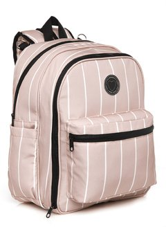 MOCHILA MONACO ROSA- HAPPY LITTLE MOMENTS - comprar online