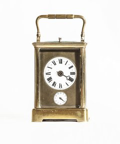 Carriage clock Inglés  caja de bronce