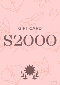 Giftcard $2000