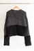 SWEATER GRIS Y NEGRO - PANORAMA