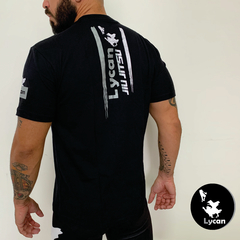 T-Shirt Lycan Black Team Jiu Jitsu na internet