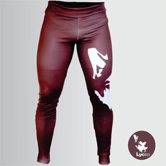 Legging Lycan  Marrom - Com Short Interno