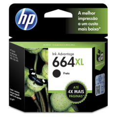 Cartucho HP 664 XL PRETO