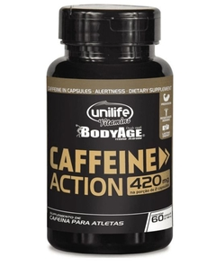 Caffeine Action 60caps 700mg (Cafeina) - Unilife