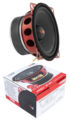 "Parlante de Medios 4"" - DS18 PRO-X4M 4"" Mid Range Loud Speaker 200 Watt 8 Ohm Pro Car Audio"