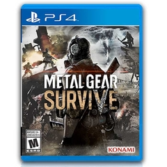 Juego de PS4 Original Físico Metal Gear Survive