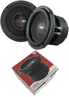 Subwoofer 6.5 Ds18 Elite Z6 600w Max Doble Bobina 300 W Rms