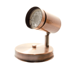 Aplique de pared Spot para led 90 mm (led no incluido) en internet