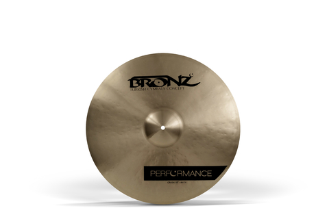 "Prato Bronz Performance Crash 17"" BRZ-PER-CR17"