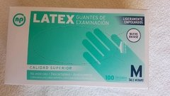 Guantes de latex descartables x100 Unidades
